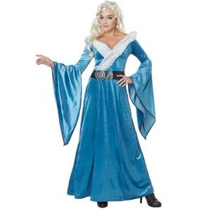 Medieval Dragon Maiden Costume Large 8-14 NWT